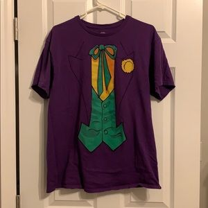 Joker purple t shirt